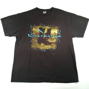 VTG Riverdance Irish Step Dancing T Shirt XL 90s